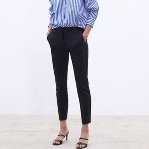 NWT Zara Black Pants w/ Elastic Jogger Waist